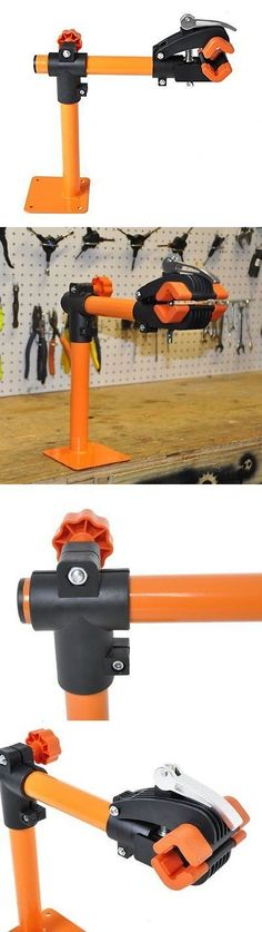 Workstands 177847: Conquer Bench Mount Bike Repair Stand Bicycle Rack Bike Workstand, New -> BUY IT NOW ONLY: $32.02 on eBay! #bikerepairstand
