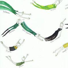 #LISAA vous souhaite un joyeux #StPatricksDay !!! Projet #design #mode #LISAANantes de Lucile Garault