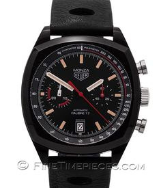 #TAG_HEUER | Heritage #Monza_42 #Calibre_17 Chronograph | Ref. #CR2080.FC6375