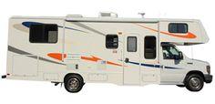 Class C RV Rental-MHA Maxi Motorhome Exterior