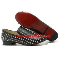 All You Need is Love And Christian Louboutin Rolling Spikes Loafers Black DFX! Cl Shoes, Black Shoes, Shoes Men, Black Christian Louboutin, Red Heels, Fashion Heels, Crazy Shoes, Shoe Collection, Zapatos