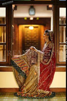 Pakistani Bridal Farshi Gharara
