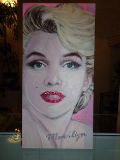 Marilyn interpretazione di CreazioniElix su Etsy, €52.00