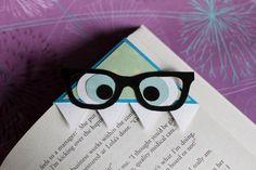 Nerdy Monster Bookmark. $5.00, via Etsy.
