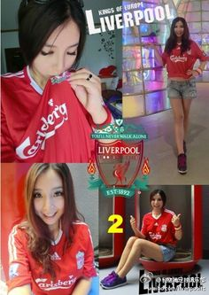 The Official LFC Weibo account recently ran a competition to find Miss LFC China. These are the Top 10 finalists