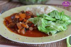 Vegán főzőtanfolyam - Őszindító finomságok egészségesen 2 Beef, Vegan, Food, Meat, Essen, Meals, Vegans, Yemek, Eten