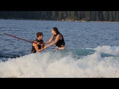 This Wakeboard Wedding Proposal Video Is amazing!- hey I know this couple- crazy how it's gone viral already