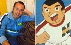 Andrés Iniesta y Bruce Harper Mickey Mouse, Disney Characters, Fictional Characters, Family Guy, Feelings, Athlete, Cartoon, Sports, Fantasy Characters