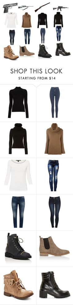 """""""Untitled #540"""" by megibson2005 on Polyvore featuring Misha Nonoo, Topshop, Exclusive for Intermix, Agnona, Weekend Max Mara, JunaRose, Giuseppe Zanotti, Barneys New York, Z London and Moncler"""