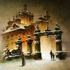 Украинский художник Игорь Кухарский - Igor Kuharsky