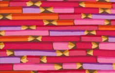 Canton Village Quilt Works: Shop | Category: Westminster Fabrics | Product: Pencils - Red