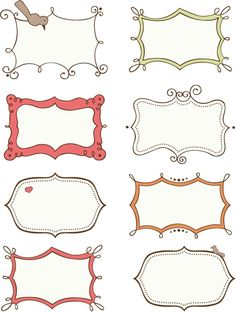 doodle frames free - Google Search