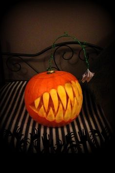 "Dear Judas... | ""I made a pumpkin!  I decided to make my pumpkin this year a Very scary Hanklerfish and instead of giving it an Esca, it has a TFIOS book to lure in all the nerdfighters so it can gobble them up! muwahahaha"""
