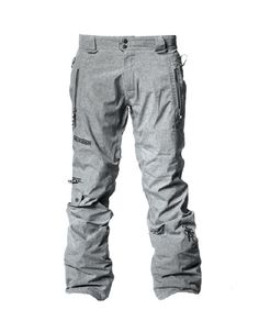 If you're not into baggy pants, don't look past the slim fit of the men's Saga Outerwear Fatigue 2L Ski & Snowboard Pants.