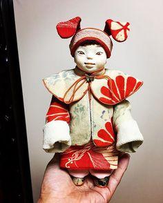 #創作人形 #ちりめん細工 #ちりめん人形 #江戸ちりめん
