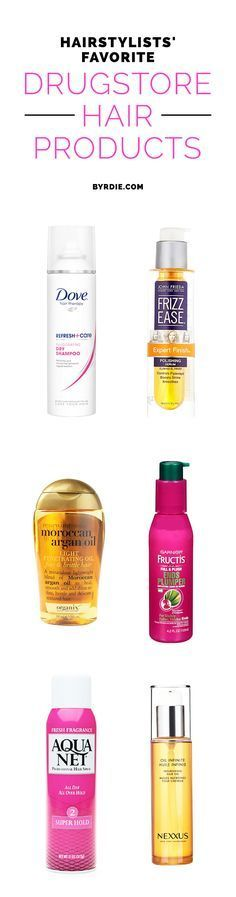 Celebrity hairstylist's, like makeup artists, have access to the most luxe products on the market. Check out 10 of their favorite drugstore picks. * Check this useful article by going to the link at the image. #LovelyHairstyles