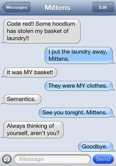 Because You Love It: Texts From Mittens Is Now a Regular Catster Feature! | Catster