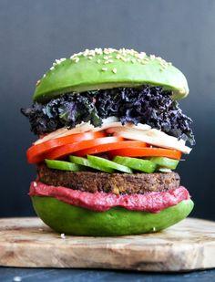 Avocado Burgers with Frei-Style Recipe