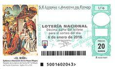 """Los jiennenses, los andaluces que más gastarán en la lotería de """"El Niño"""""""