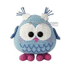 Lechuza al crochet