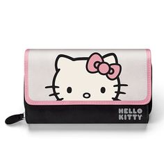 """""""Hello Kitty Style Icon"""" Tote Bag With Appliqué Patch Hello Kitty Baby, Hello Kitty Themes, Personalized Welcome Mats, Hello Kitty Coloring, Cool School Supplies, Kitty Images, Feed Bags, Pretty Cats, Home"""