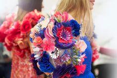 Floral: The taste of Petrol and Porcelain | Interior design, Vintage Sets and Unique Pieces www.petrolandporcelain.com Chanel haute couture spring 2015 backstage