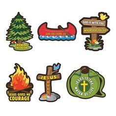 Camp Courage Cutouts - OrientalTrading.com