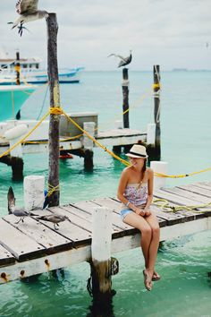 Tavel to Isla De Mujeres, Mexico  Read More: http://www.stylemepretty.com/living/2014/10/22/a-mini-guide-to-isla-de-mujeres-mexico/