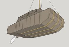 Progress in 3D – Tiny house boat