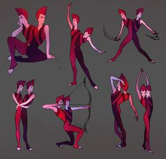 The Rutile twins from Steven Universe as drawn by Twenty-seventh of DeviantArt.