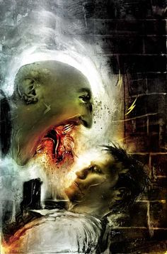 CRIMINAL MACABRE #2 cover by Ben Templesmith