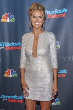 Heidi Klum---I want to look like her.....