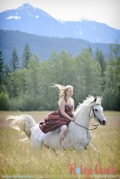 Beauty and Beloved Sessions by Robyn Louise Photography - Horses and Dresses - Capture the special bond between you and your horse in a fancy dress - grad dress or wedding dress. www.beautyandbelo... mailto:robyn@robynlouise.com Pemberton BC horse photography
