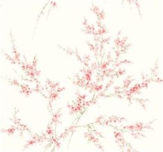 Blossom Branches Wallpaper design by York Wallcoverings Wallpaper Online, Home Wallpaper, Fabric Wallpaper, Modern Wallpaper Designs, Designer Wallpaper, Plain Wallpaper, Burke Decor, Bath Decor, Winter White