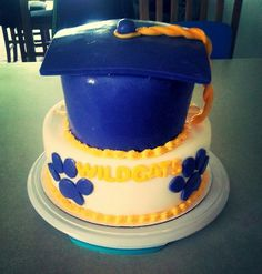 Wildcats graduation cake
