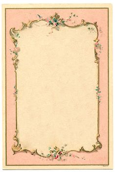 Victorian French Graphic - Romantic Couple - Ornate Frames - The Graphics Fairy