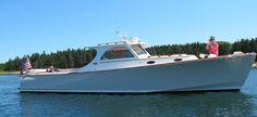 Hinckley Picnic Boat, 37' composite jet boat
