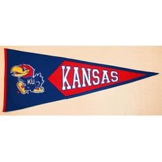 Kansas Jayhawks Classic Wool Pennant