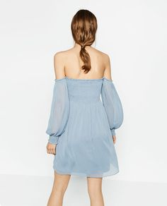 Image 4 of CREPE DRESS from Zara