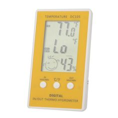 Thermostat LCD Digital Thermometer Hygrometer Temperature Meter With Sensor