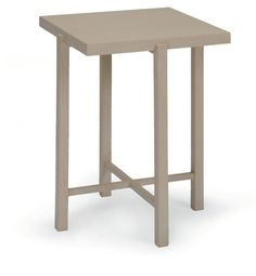"BELLA SIDE TABLE | Dimensions 26""H x 21""W x 21""D 