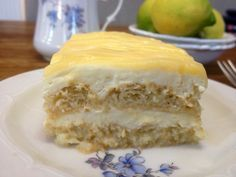 Τιραμισού λεμόνι (ακαταμάχητο) Tiramisu, Food And Drink, Pie, Cheese, Sweet, Desserts, Food, Torte, Candy