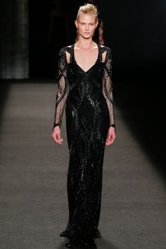Monique Lhuillier Fall 2014 Ready-to-Wear Fashion Show