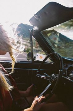 You're my open road.