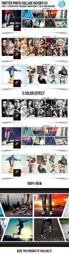 Twitter Photo Collage Header V3