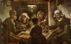 Os comedores de batata - Van Gogh