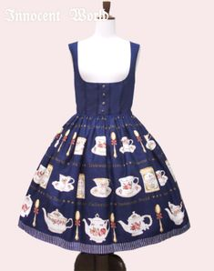 Lolibrary | Innocent World - JSK - Tea Time Corset JSK