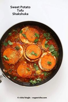 Vegan Shakshuka with Sweet Potato | Vegan Richa