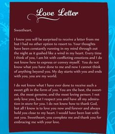 Love Letters for Her, Romantic Love Letter for Girlfriend Love Letters Quotes, Sweet Love Letters, Love Mom Quotes, Niece Quotes, Romantic Love Letters, Romantic Love Messages, Daughter Love Quotes, Soulmate Love Quotes, Dad Quotes