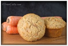 Carrot-Oat Spice Muffins